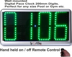 Digital Pace Clock