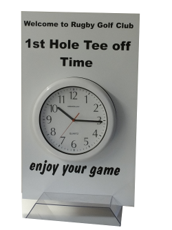 First tee & Pace of Play Clock