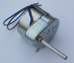 Spare Pace Clock Motor  240v or 12vac
