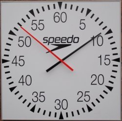 Speedo Battery Pace Clocks (open face)