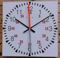 Time of day pace clock time of day clocks sportclox for Reloj piscina