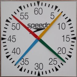 Speedo 4 Handed Pace Clock (Euro Style)