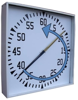 Pace Training Clock (Cased)