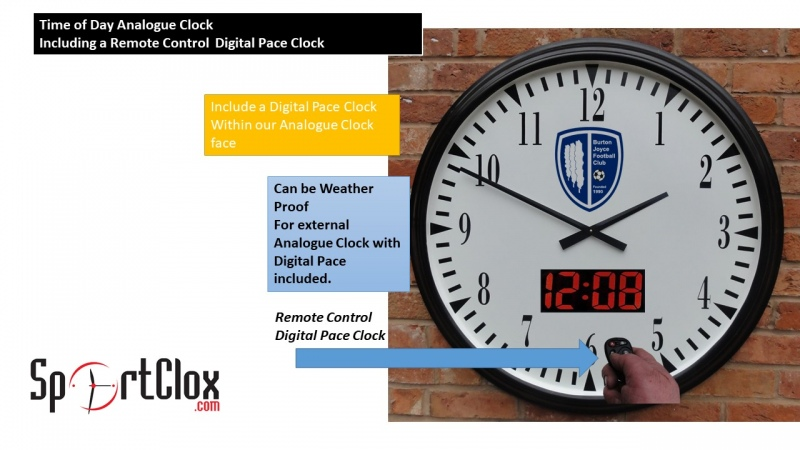 Time of Day & Digital Pace Clocks
