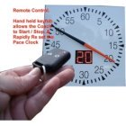 PACE CLOCK REMOTE CONTROL RESETTABLE