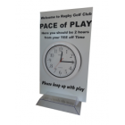 Pace of Play Clock