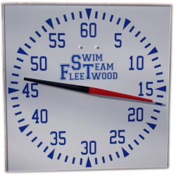 Wall Mounted Pace Clock